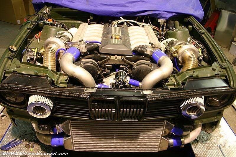 Bmw E30 V12 Twin Turbo Automanas Lt