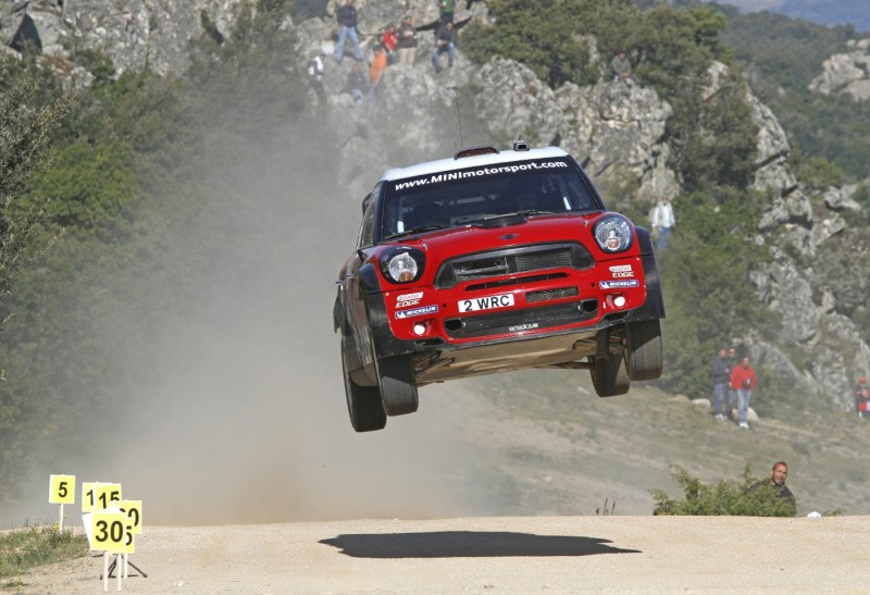 MINI WRC komanda sužibėjo WRC ralio etape Vokietijoje