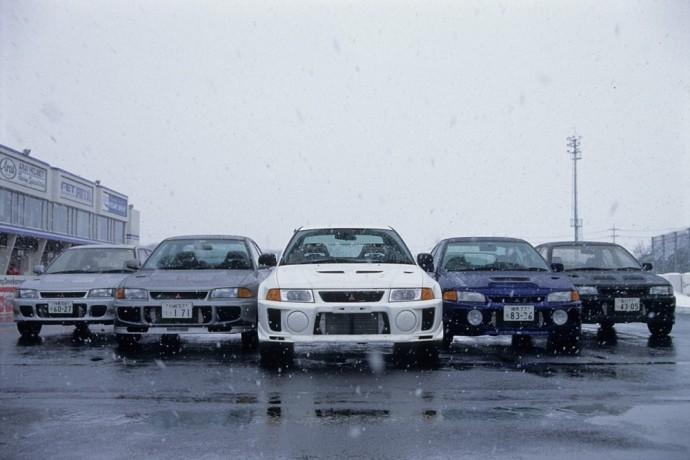 Mitsubishi Lancer Evolution modelių gama