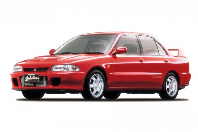 Pirmoji Mitsubishi Lancer Evoliucija