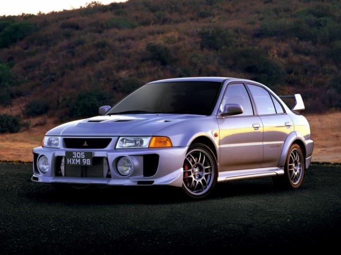 Penktoji Mitsubishi Lancer Evoliucija