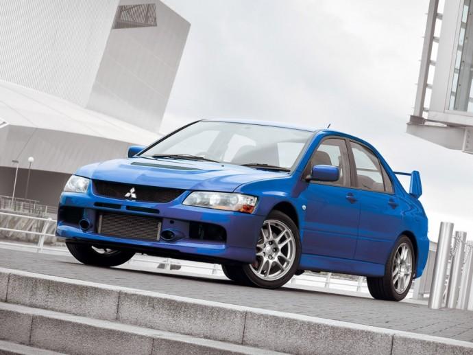 Devintoji Mitsubishi Lancer Evoliucija