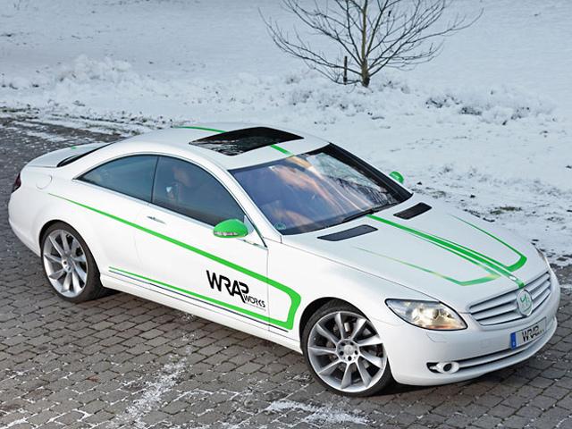 Mercedes-Benz CL500 W216 в т…