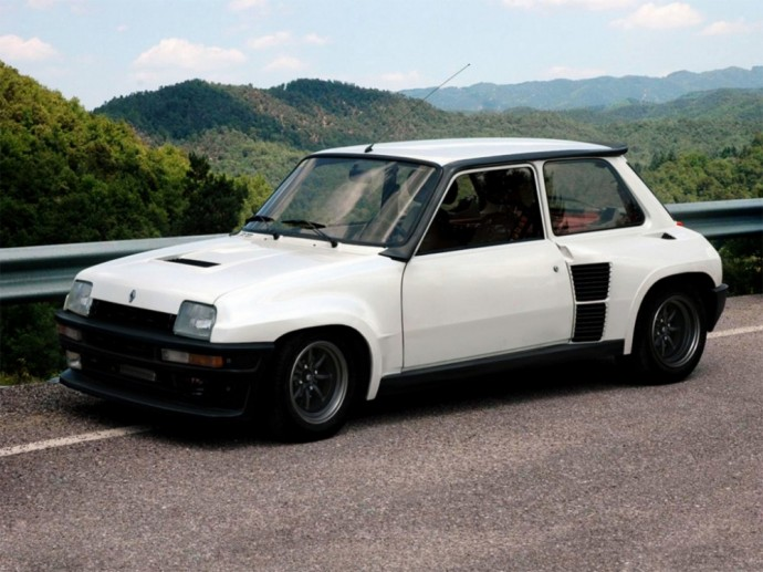 Renault 5 Turbo hečbekas