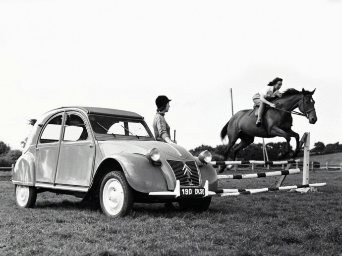Citroën 2CV hečbekas