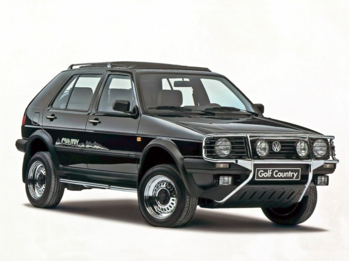 Volkswagen Golf Country Syncro