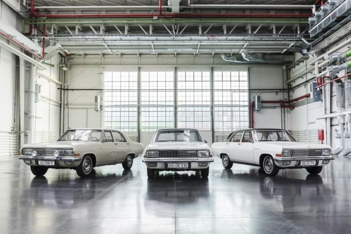 Opel KAD modelių gama nuo 1964 iki 1968 metų