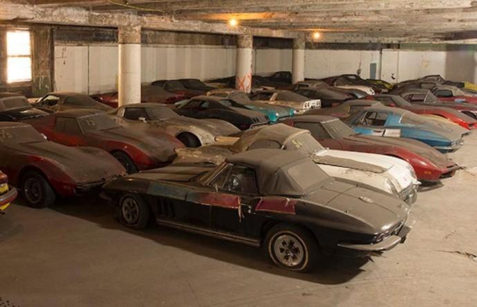 Chevrolet Corvette automobilių kolekcija