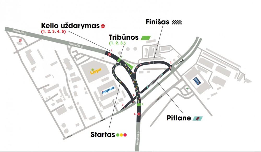 Klaipedoje � unikali drifto trasa | Automanas