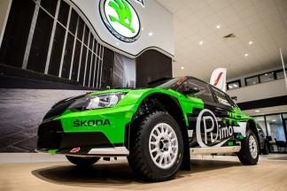 """""""Rimo Martin Sport"""" nariai oficialiai pristatė naująjį bolidą - """"Škoda Fabia R5"""""""