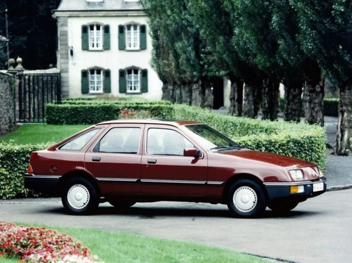 Harmas Lagaay suprojektuota Ford Sierra
