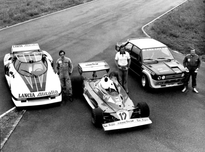Fiat Abarth 131 Rally Corsa, Lancia Stratos Group 4, Ferrari 312 T2