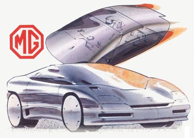 MG EX-E koncepcija