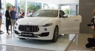 """Vilniuje buvo pristatytas pirmasis """"Maserati"""" visureigis"""