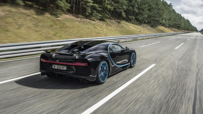 Vienas greičiausių automobilių pasaulyje – Bugatti Chiron