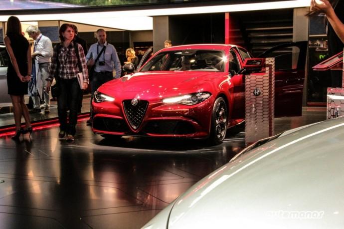 Naujoji Alfa Romeo Giulia