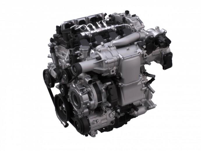 Mazda SKYACTIV-X variklis