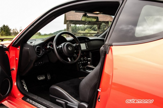 Toyota GT86 testas