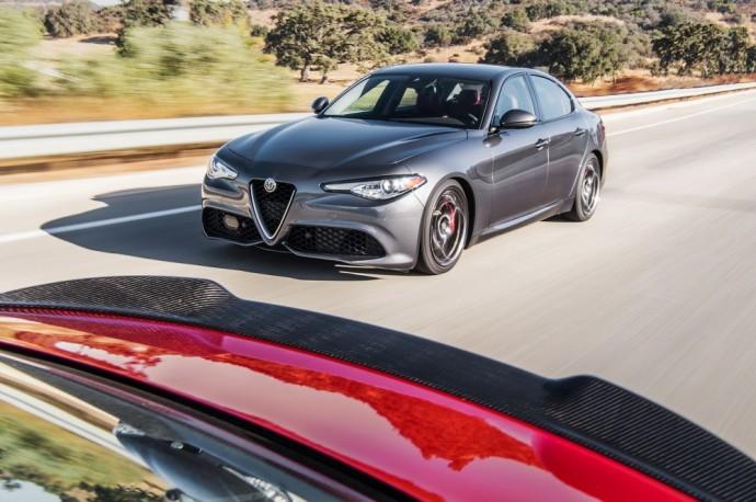 Jungtinių Amerikos Valstijų rinkai skirta Alfa Romeo Giulia