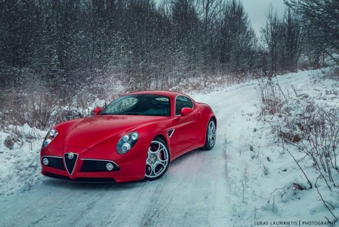 Alfa Romeo 8C Competizione (nuotr. Lukas Laurikietis)