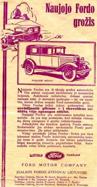 "Benz 25/55 PS"": Pirmasis Lietuvos prezidento automobilis"