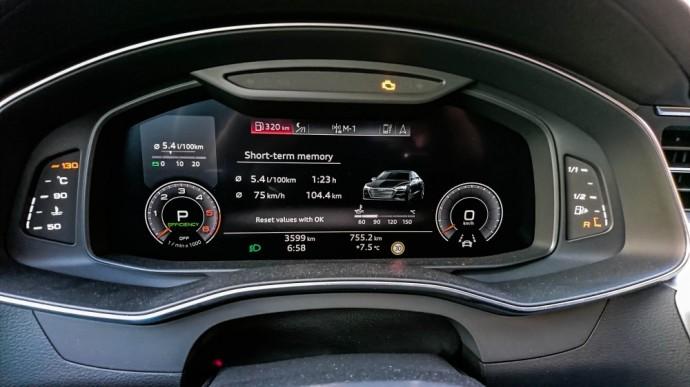 Audi A7 Sportback sąnaudos