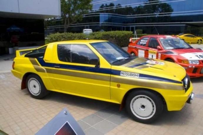 Mitsubishi Starion  prototipas