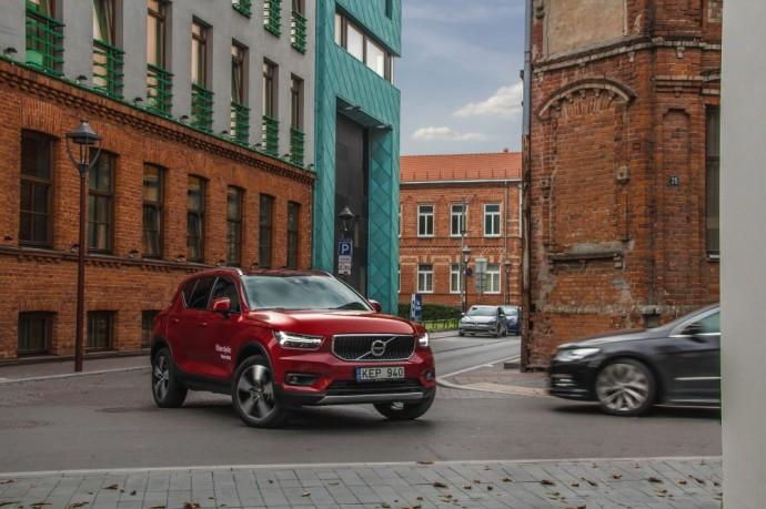 Volvo XC40 testas