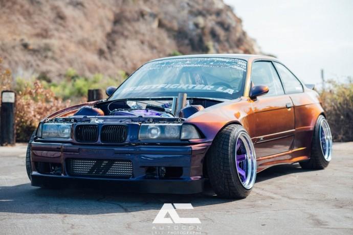 Modifikuotas BMW E36 M3
