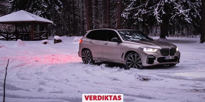 Verdiktas su nuotrauka BMW X5 M50d