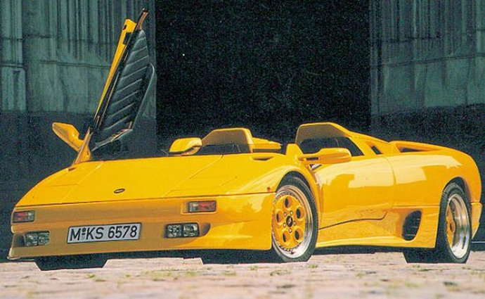 """Lamborghini Diablo"" pagal Koenig"
