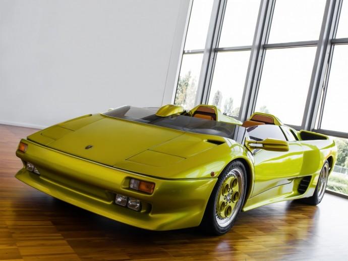 Lamborghini Diablo Roadster koncepcija