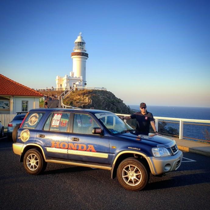 Vitoldo Miliaus automobilis – Honda CR-V