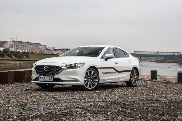 Palyginamasis testas: Mazda 6 prieš Peugeot 508