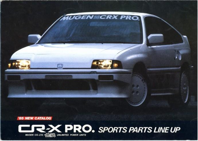 Mugen patobulintas Honda Ballade CRX