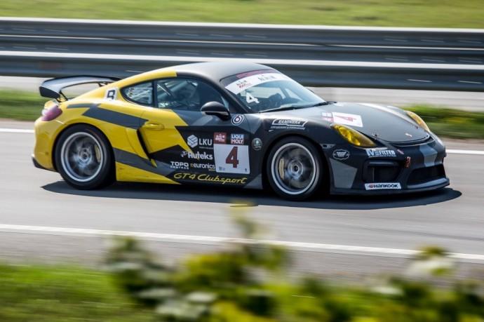 Porsche Baltic komandos bolidas – Cayman GT4