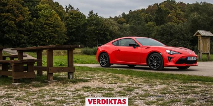Toyota GT86 verdiktas