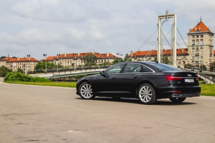 Naujos kartos Audi A6 50 TDI testas