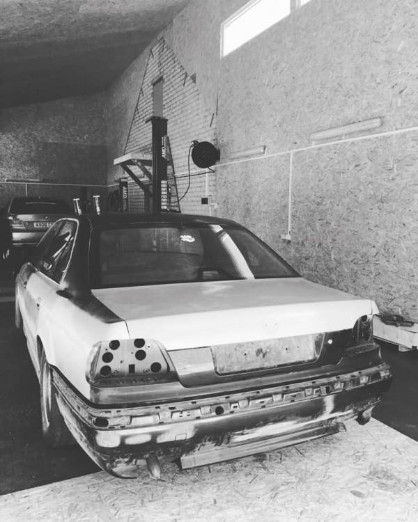 Evaldo projektas - BMW 7