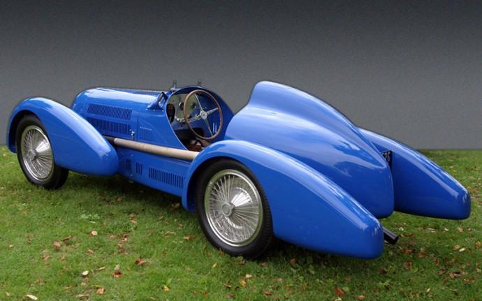 Bugatti Type 73C - atkurtas Tomo Wheatcrofto