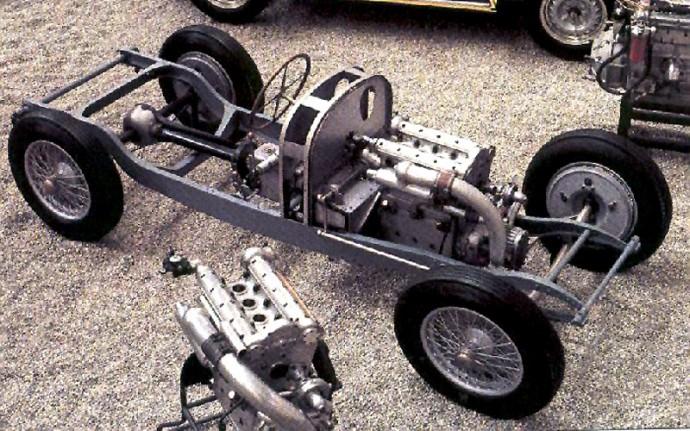 Bugatti Type 73C važiuoklė