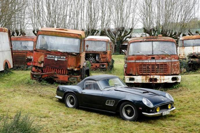 Prancūzo verslininko numylėtinė – Ferrari 250 GT SWB