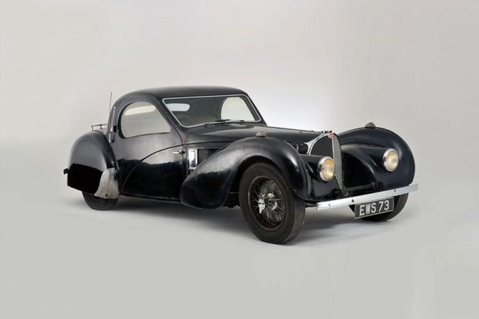 Itin reta Bugatti Type 57S Atalante kupė