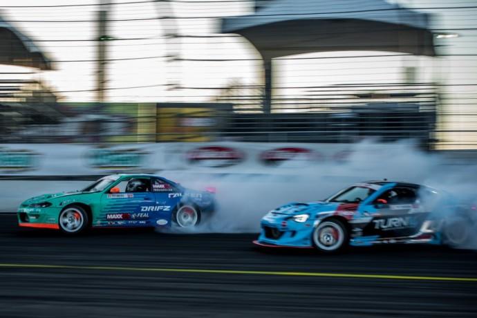 Aurimas Bakchis trečiajame Formula Drift etape