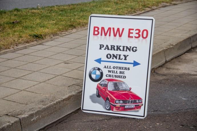 BMW E30 gerbėjų susitikimas Marijampolėje