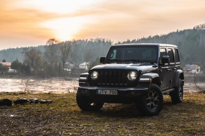 Naujos kartos Jeep Wrangler testas