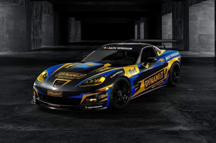 Dynamit Energy komandos bolidas - Chevrolet Corvette