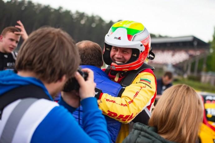 DHL Racing komandos lenktynininkas – Ramūnas Čapkauskas