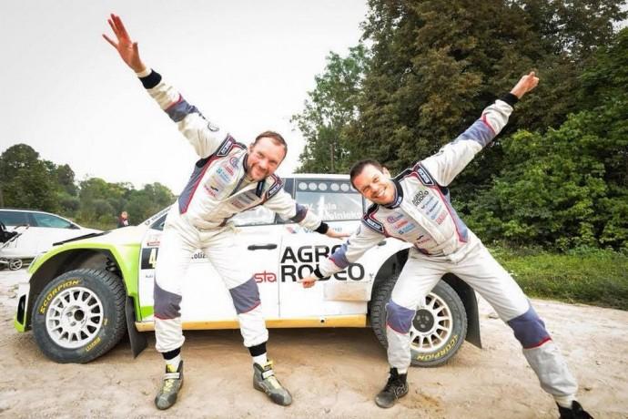 Rally Liepaja favoritai – Vaidotas Žala ir Andris Malnieks