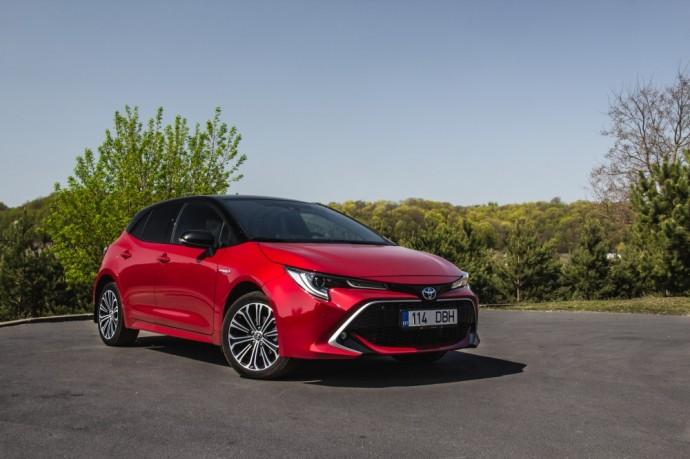 Naujos kartos Toyota Corolla testas